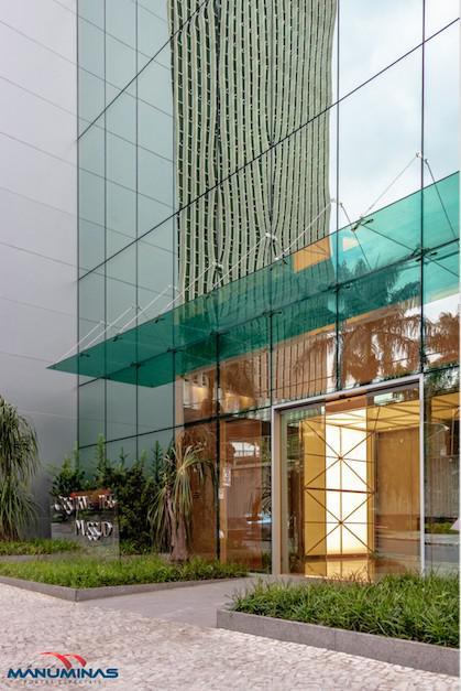 Automatização portas de vidro