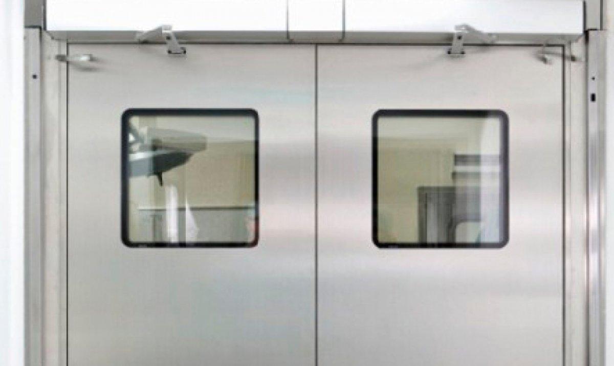 Porta automática de batente ou pivotante 2 Folhas